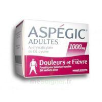 ASPEGIC ADULTES 1000 mg, poudre pour solution buvable en sachet-dose 20 à Mérignac