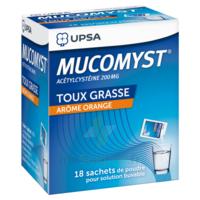 MUCOMYST 200 mg Poudre pour solution buvable en sachet B/18 à Mérignac