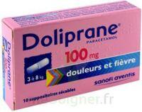 DOLIPRANE 100 mg Suppositoires sécables 2Plq/5 (10) à Mérignac