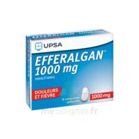 Efferalgan 1000 mg Comprimés pelliculés Plq/8 à Mérignac