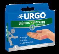 URGO BRULURES-BLESSURES PETIT FORMAT x 6 à Mérignac