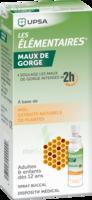 LES ELEMENTAIRES Solution buccale maux de gorge adulte 30ml à Mérignac