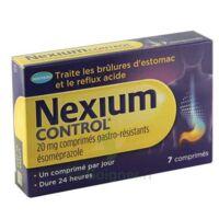 NEXIUM CONTROL 20 mg Cpr gastro-rés Plq/7 à Mérignac
