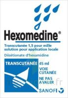 HEXOMEDINE TRANSCUTANEE 1,5 POUR MILLE, solution pour application locale à Mérignac