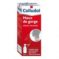 COLLUDOL Solution pour pulvérisation buccale en flacon pressurisé Fl/30 ml + embout buccal à Mérignac