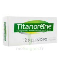 TITANOREINE Suppositoires B/12 à Mérignac