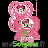 Dodie Disney Sucette anatomique silicone +6mois minnie Lot/2