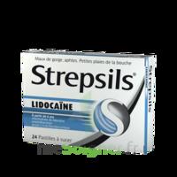 Strepsils lidocaïne Pastilles Plq/24 à Mérignac