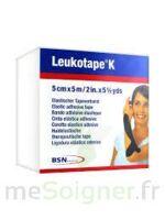 LEUKOTAPE K Sparadrap noir 5cmx5m à Mérignac