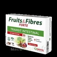 Ortis Fruits & Fibres Forte Cube à mâcher B/12 à Mérignac