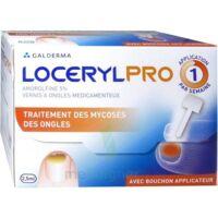 LOCERYLPRO 5 % V ongles médicamenteux Fl/2,5ml+spatule+30 limes+lingettes à Mérignac
