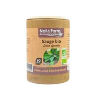 Nat&Form Eco Responsable Sauge Bio Gélules B/90 à Mérignac